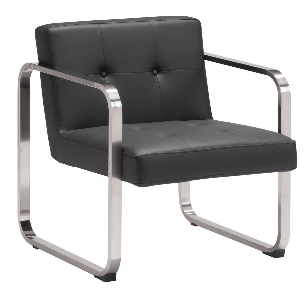 Zuo Modern Varietal Arm Chair - Black