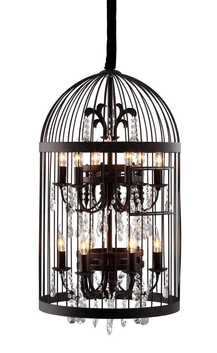 Zuo Modern Canary Ceiling Lamp - Black