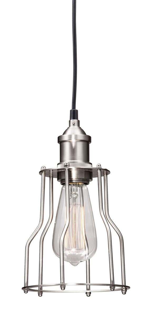 Zuo Modern Adamite Ceiling Lamp - Nickel