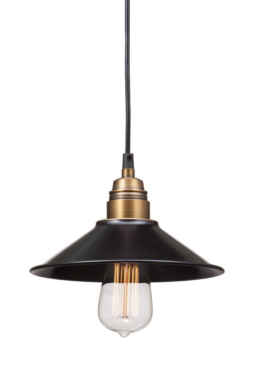 Zuo Modern Amarillite Ceiling Lamp - Black/Copper