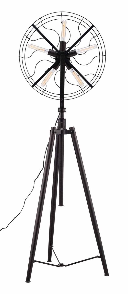 Zuo Modern Samsonyte Floor Lamp - Rust