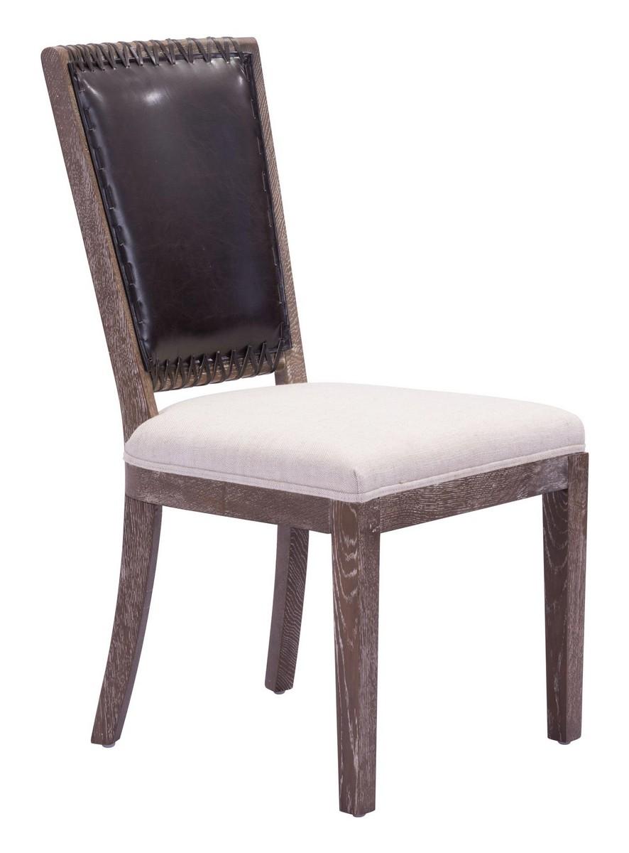 Zuo Modern Market Dining Chair - Brown/Beige