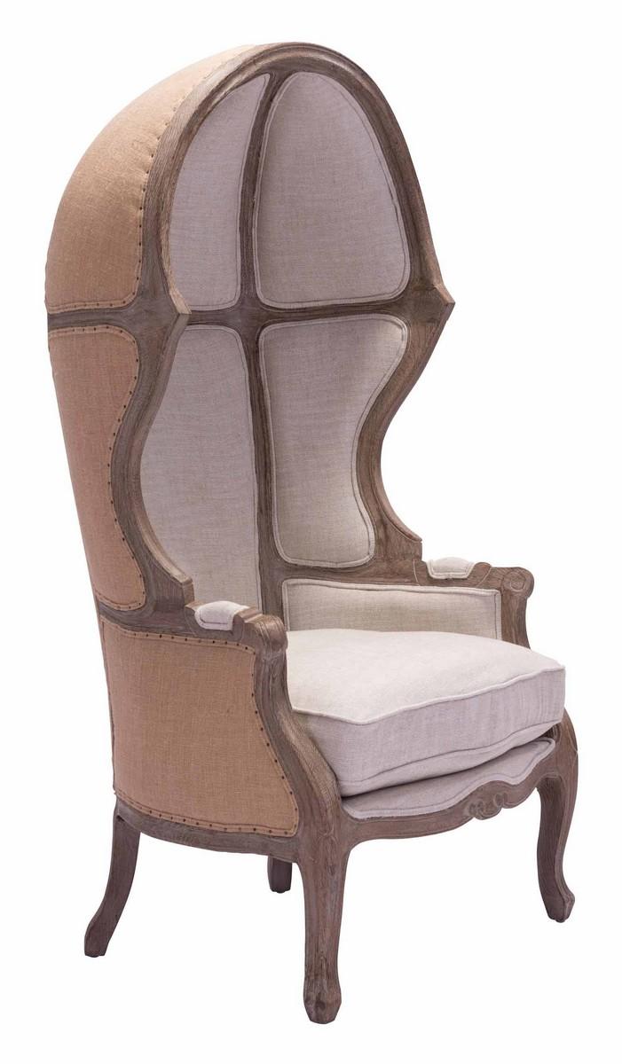 Zuo Modern Ellis Occasional Chair - Beige