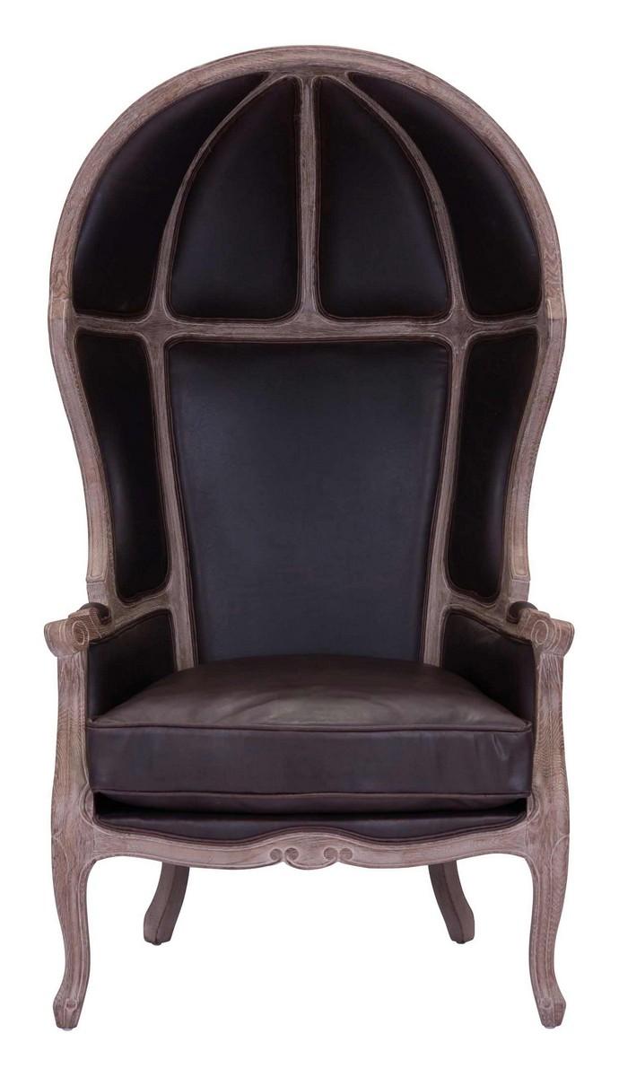Zuo Modern Ellis Occasional Chair - Brown