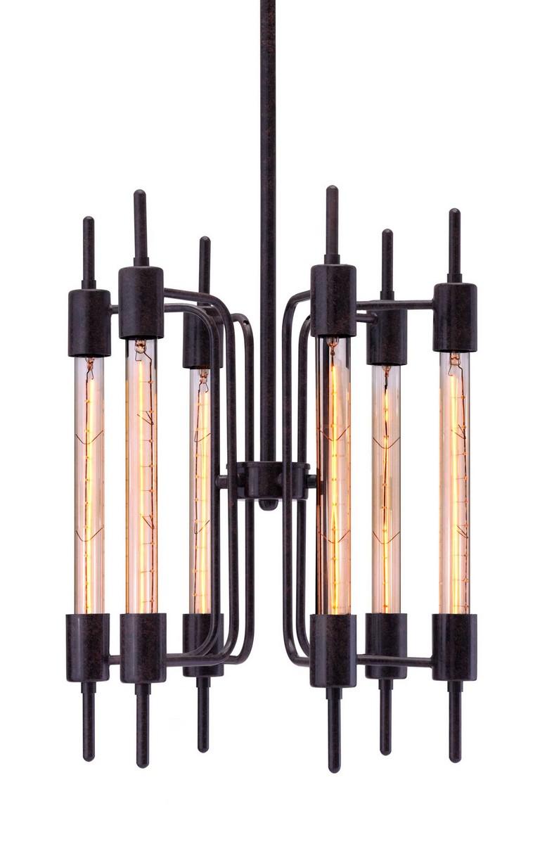 Zuo Modern Gisborne Ceiling Lamp - Rust