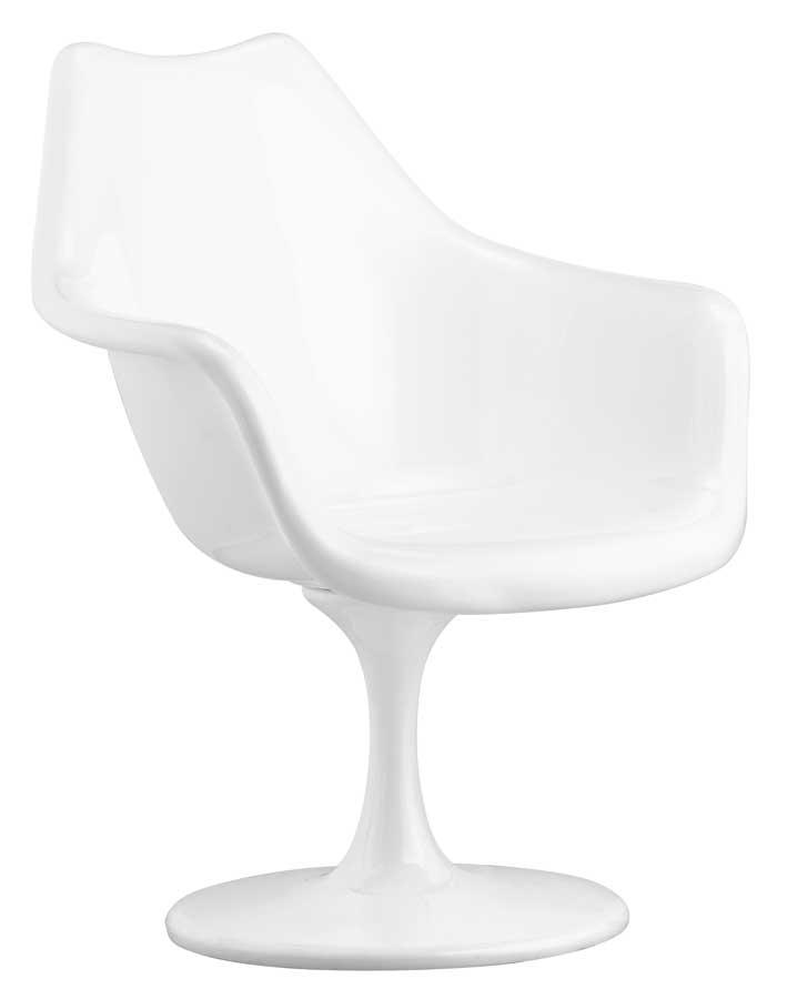 Zuo Modern Aero Chair White - Zuo Mod