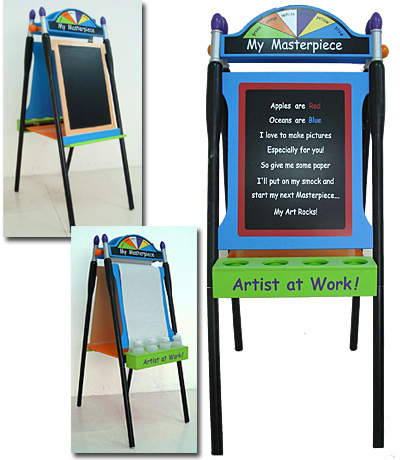Levels of Discovery Artist's Easel