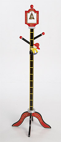 Levels of Discovery Firefighter Clothestand/Growth Chart