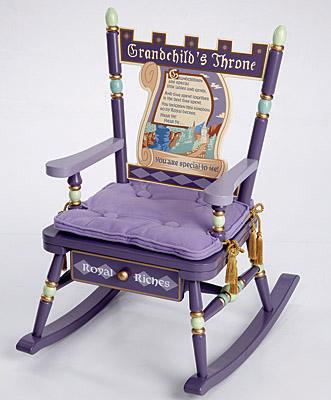 Levels of Discovery Grandchild's Throne Rocker