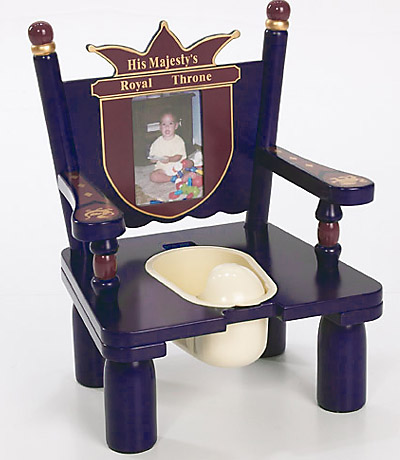 Levels of Discovery Prince Wooden Potty Training Chair