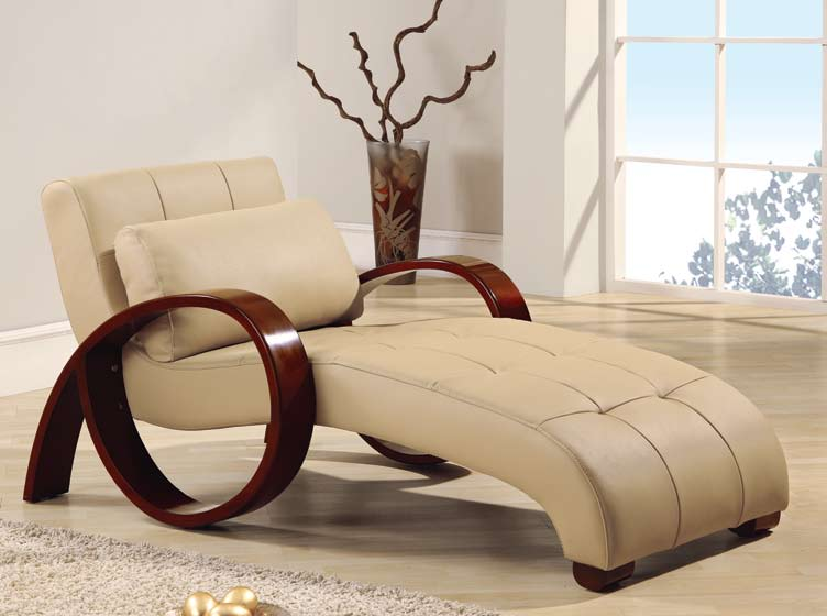 Global Furniture USA 963 Relax Chaise - Cappuccino
