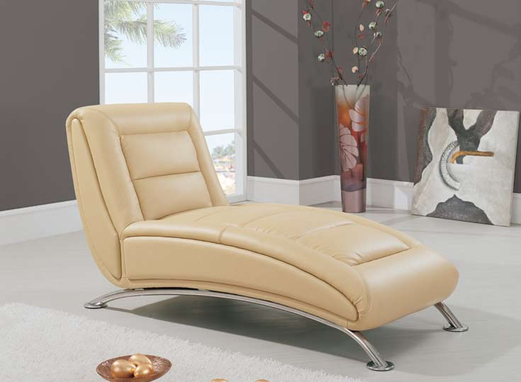 Global Furniture USA GF-TY06 Chaise - Cappuccino