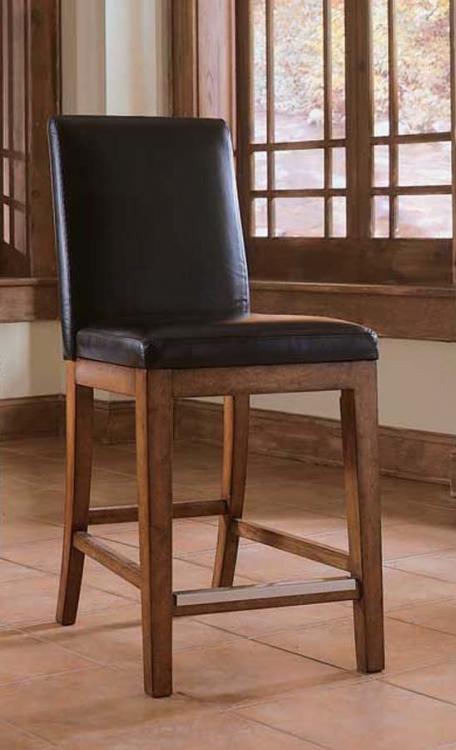 Beacon Ridge Leather Bar Stool