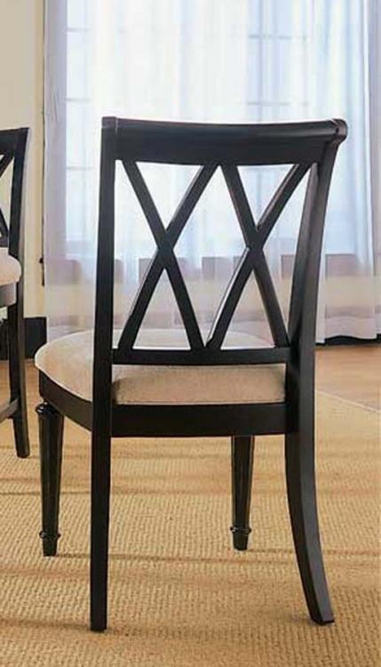 Camden Dark Splat Side Chair