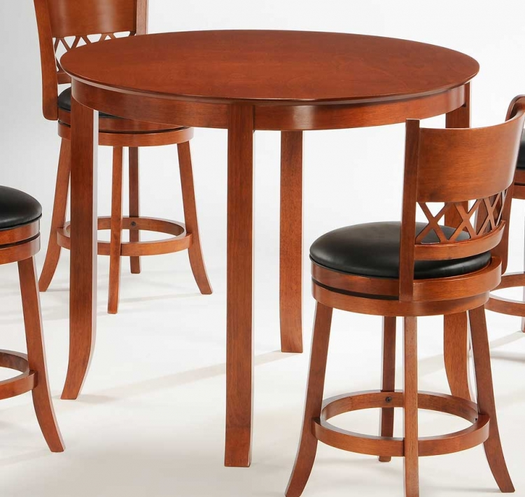 Shapel Round 42 Inch Counter Height Dining Table