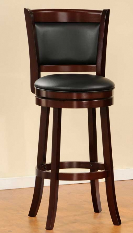 Shapel 1131 Swivel Pub Chair - Homelegance