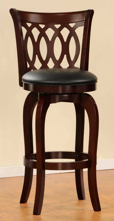 Shapel 1133 Swivel Pub Chair - Homelegance