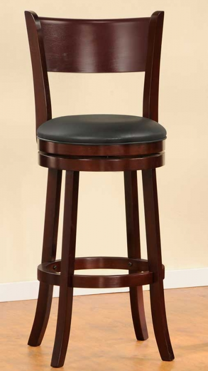 Shapel 1136 Swivel Pub Chair - Homelegance