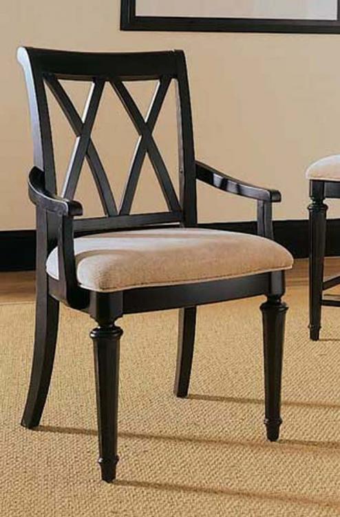 Camden Dark Splat Arm Chair