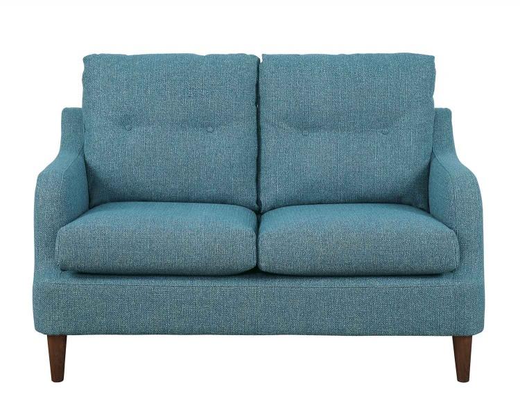 Cagle Love Seat - Blue