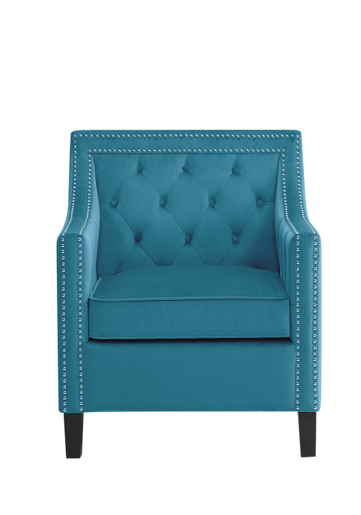 Grazioso Accent Chair - Blue