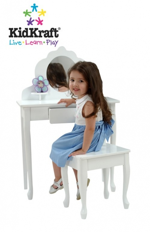 Medium Diva Table and Stool-KidKraft