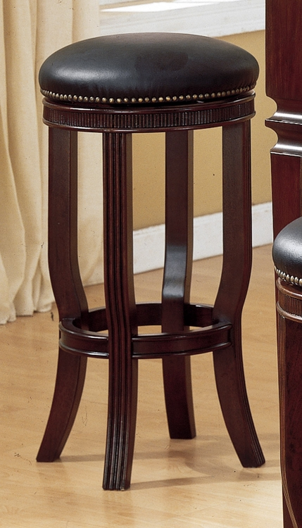 Homelegance Builtmore 29in SH Leather Stool Swivel