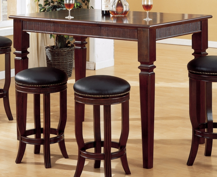 Builtmore Pub Table with 18in Leaf