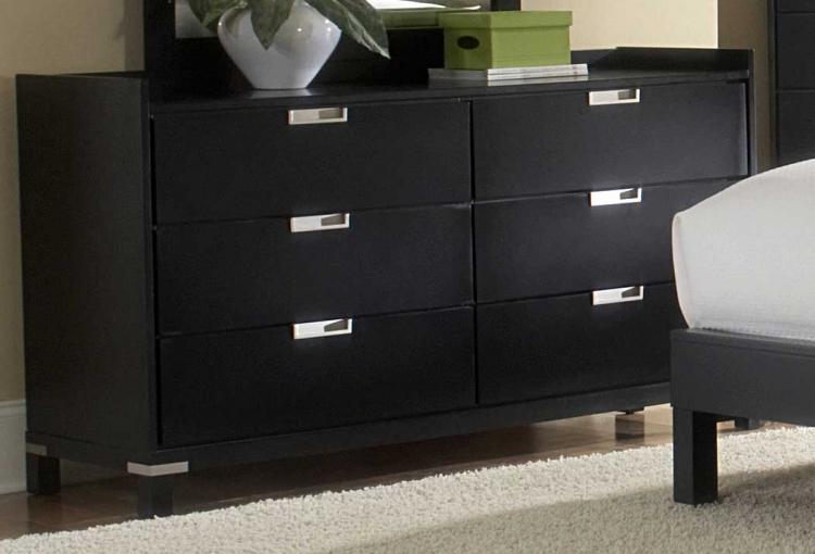 Bella Dresser in Black