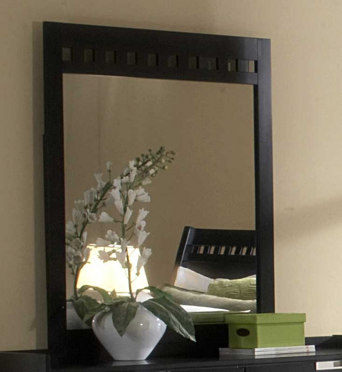Bella Mirror in Black