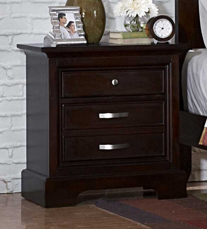 Glamour Brown Night Stand