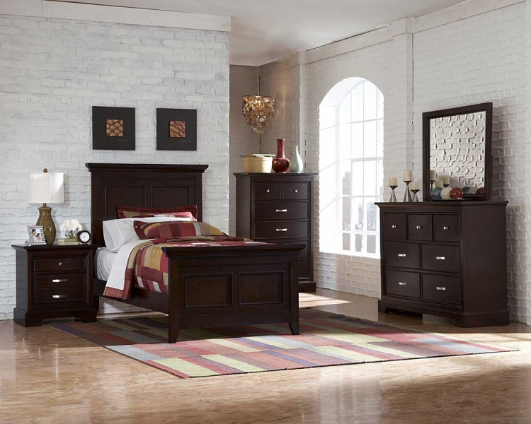 Glamour Brown Bedroom Collection-Homelegance