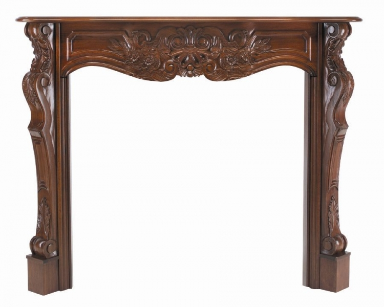 The Deauville Mantel-Pearl Mantel