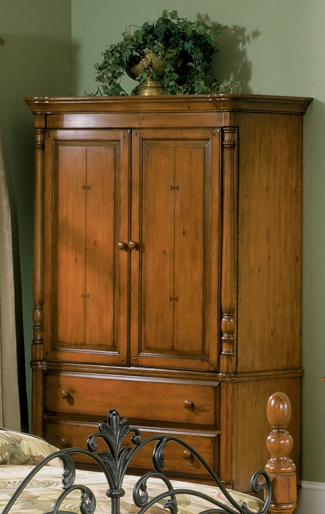 Homelegance Shady Brook 3 Drawer 2 Door TV Armoire