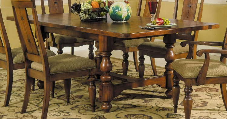 Shady Brook Dining Table with Extension