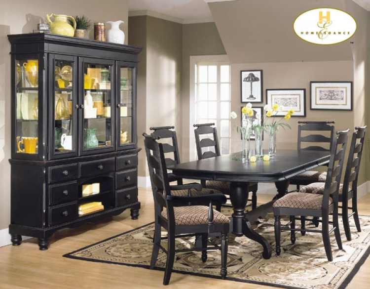 Village Court Pedestal Dining Table