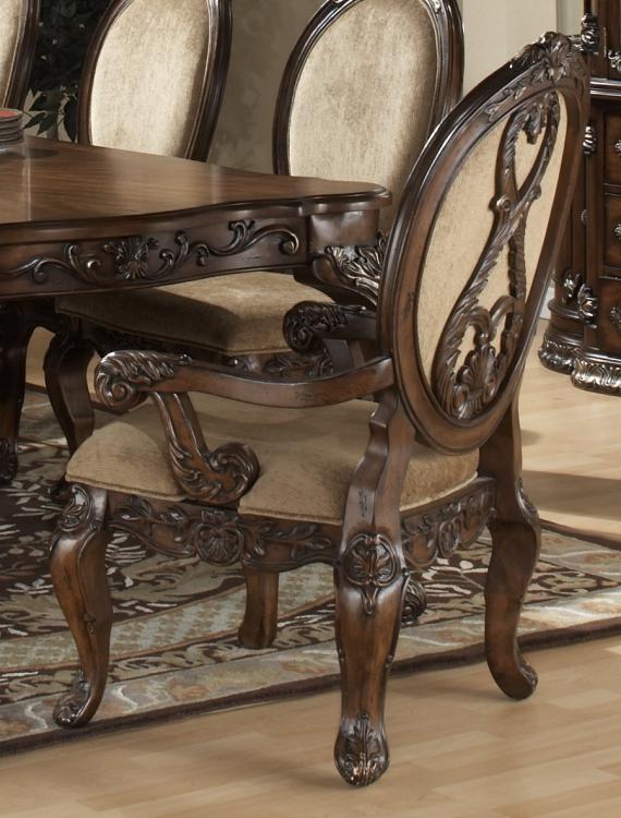 Golden Leaf Arm Chair
