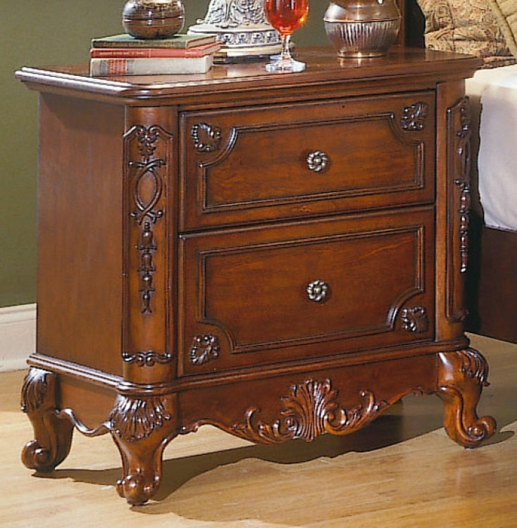 Madaleine Night Stand-Homelegance
