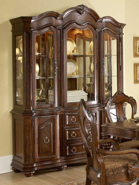 Prenzo China Cabinet-Homelegance