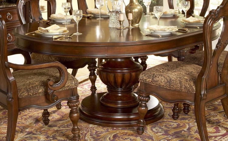 Prenzo Round Dining Table-Homelegance