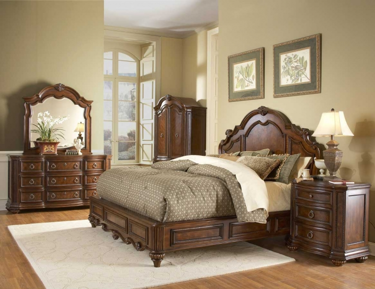 Prenzo Low Profile Bedroom Collection-Homelegance