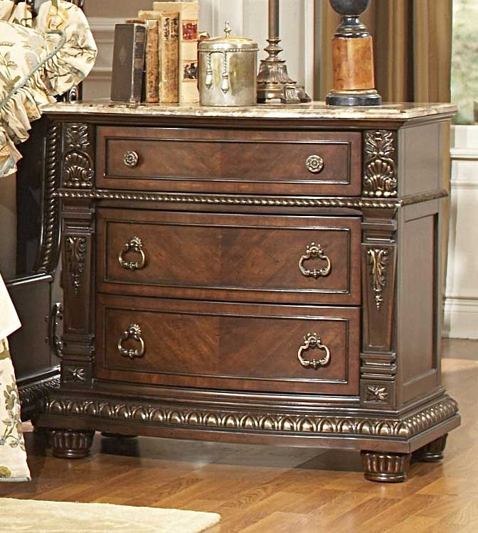 Palace Night Stand - Homelegance