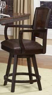 Zaberria Swivel Counter Height Chair