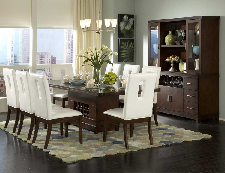 Elmhurst S2 Rectangular Dining Collection - Homelegance