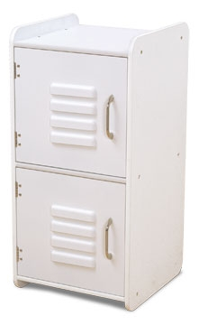 Locker - Medium - White