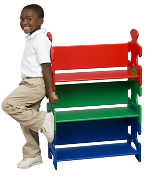 Puzzle Book Shelf - Primary-KidKraft