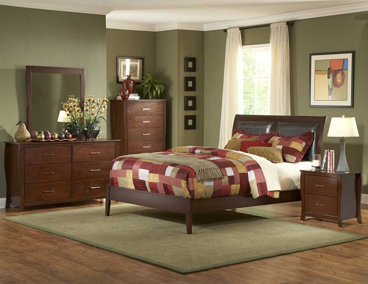 Rivera PU Bedroom Collection