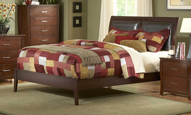 Rivera PU Bed - Homelegance
