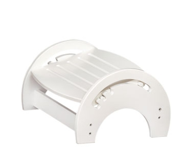 Nursing Stool - White