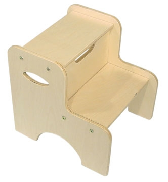 Two Step Stool - Natural-KidKraft